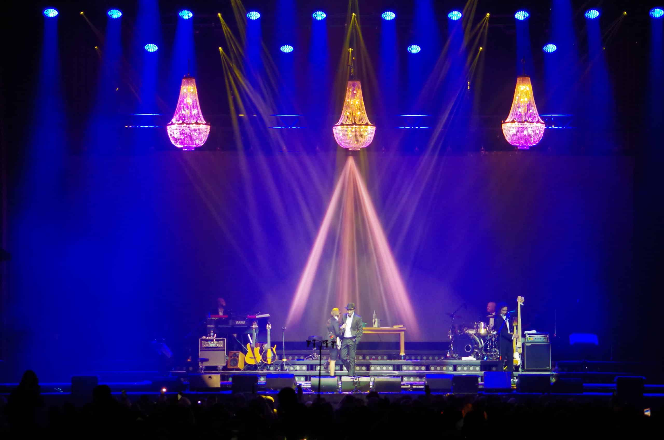 chandelier rental stage decoration concert Germany Chandelier