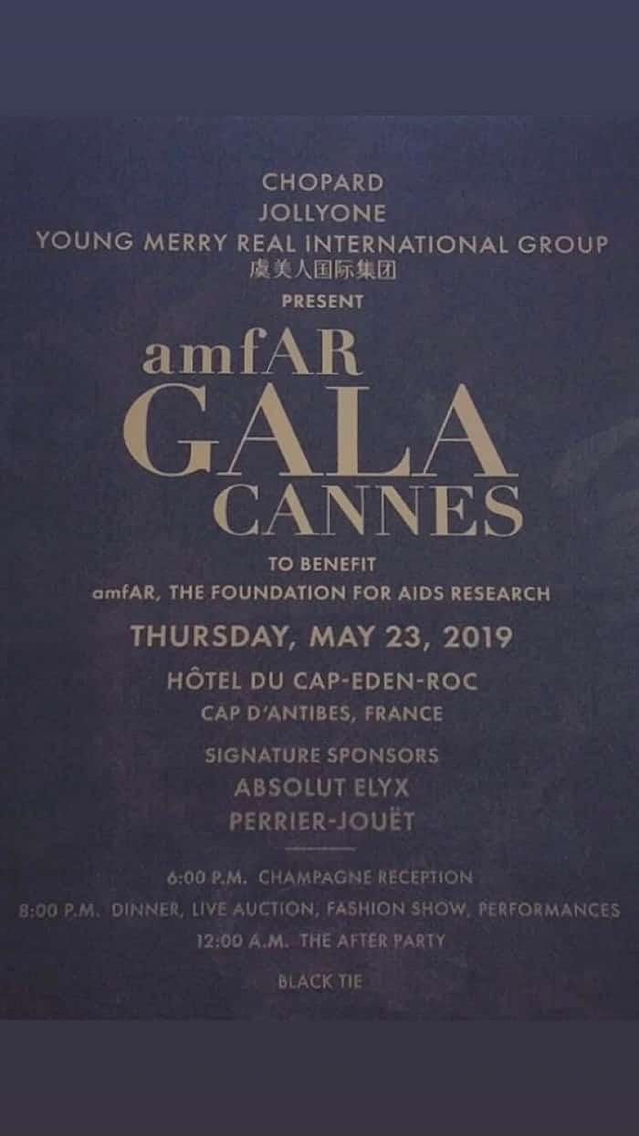 Many Chandeliers at the amfAR gala in Antibes | Cannes Film Festival
